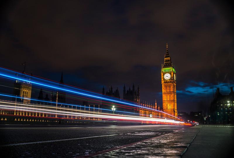 Big Ben Long Exposure 2014
