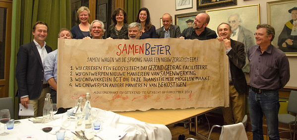 SamenBeter Dinner in UMC
