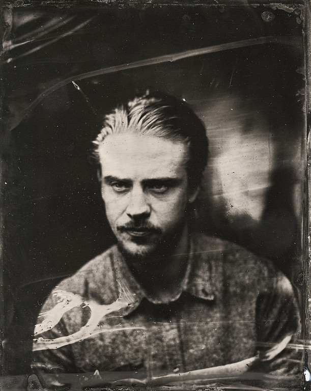 . Boyd Holbrook poses for a tintype (wet collodion) portrait at The Collective and Gibson Lounge Powered by CEG, during the 2014 Sundance Film Festival in Park City, Utah. (Photo by Victoria Will/Invision/AP)