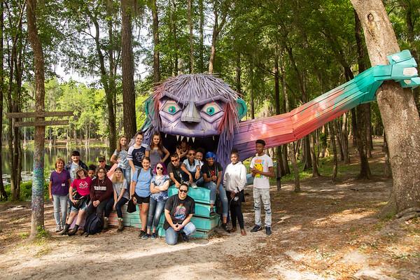 BCMS Art Field Trip SOSMP