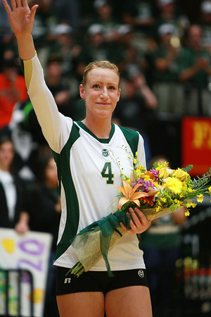 CSU vs. Wyoming Volleyball 2011