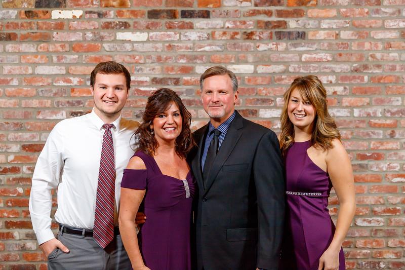Ricketts Wedding Families