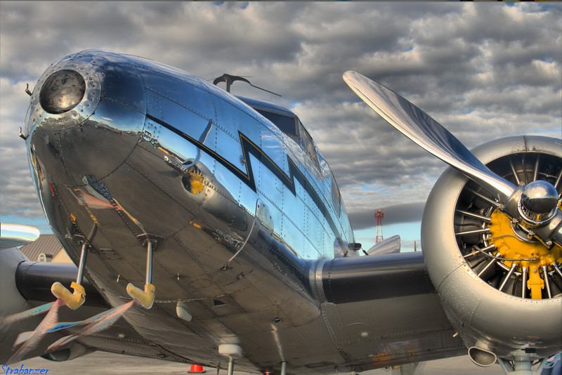 Lockheed 12A Electra Junior s/n 1208  NC2072 Rome GA 10/13/2018 This work is licensed under a Creative Commons Attribution- NonCommercial 4.0 International License.