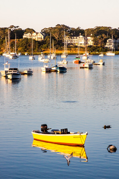 yellow boat in harbor.jpg