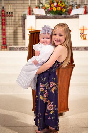 2018-04-08 Coughran and Adams Baptism