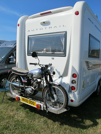 IOM Classic motorcycle show