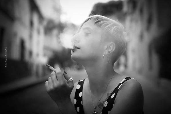 Amélie K, Montmartre, Un Jour de Juillet 2017