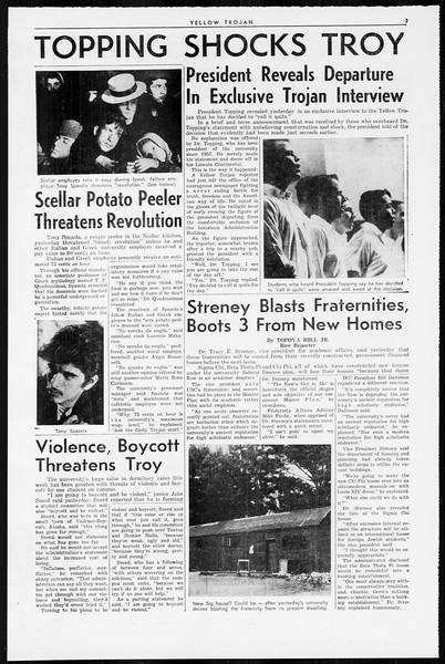 Yellow Trojan, Vol. 55, No. 89, April 01, 1964