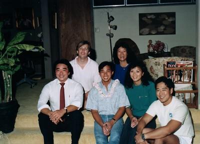 Yamanaka, Yamada, Nonaka after cliff grad med 1989