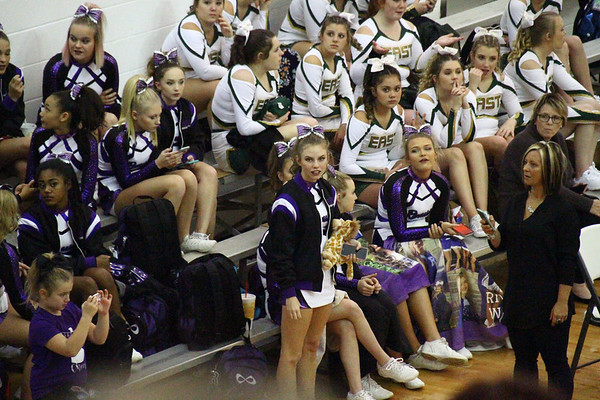 WVSSAC - Region III AAA - Cheer Comp
