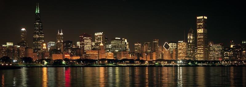 Chicago Skyline, May 2005