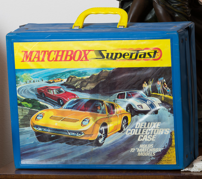 Matchbox Carrying Case