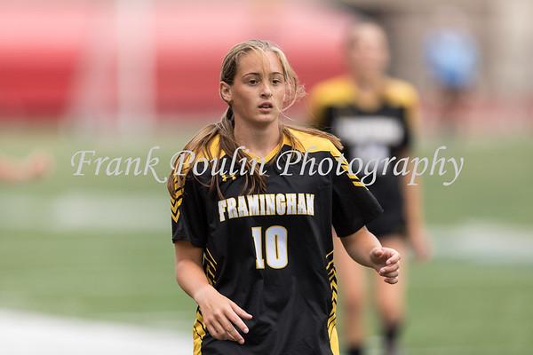 Framingham State women's soccer 9/9/2018