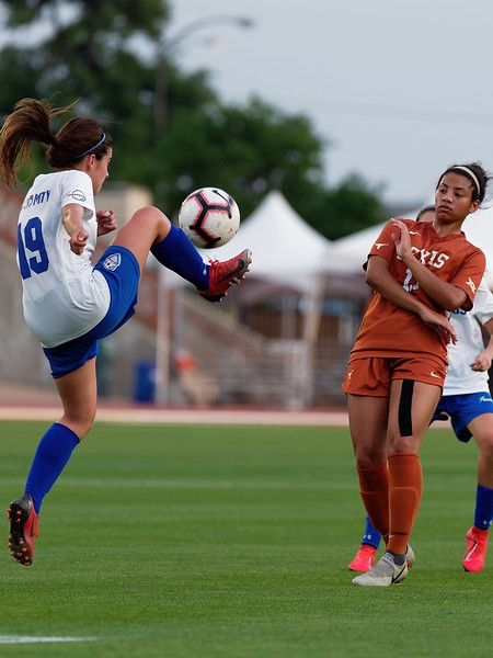University of Texas Soccer vs. Monterrey Tech 4.12.2019