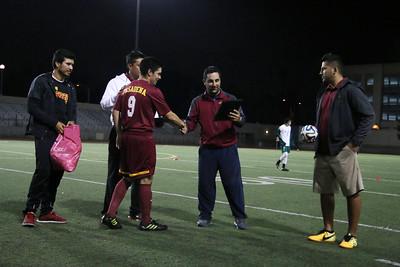 PCC Mens Soccer 11/11 vs East LA