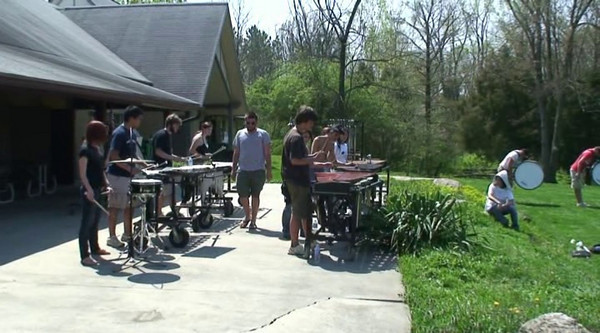 2010-04-15: Drumline Practice
