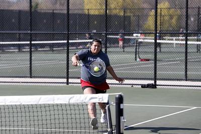 Girls Varsity Tennis - 4/22/2016 Muskegon Catholic Central