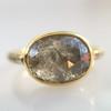 1.56ct Rustic Rose Cut Diamond Bezel Ring, by Single Stone 11