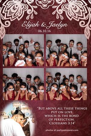 Jaelyn & Elijah's Wedding (LED Open Air Photo Booth)