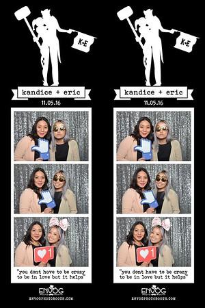 Kandice & Eric (prints)