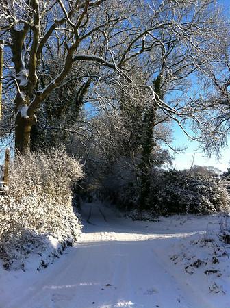 English Winter Landscape