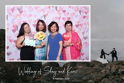 Shay & Kim 9 Feb 2020 Photobooth Album
