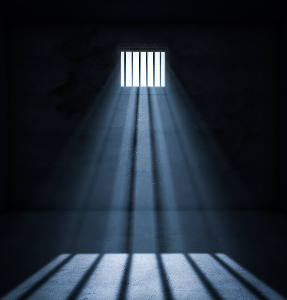 Light in prison cell