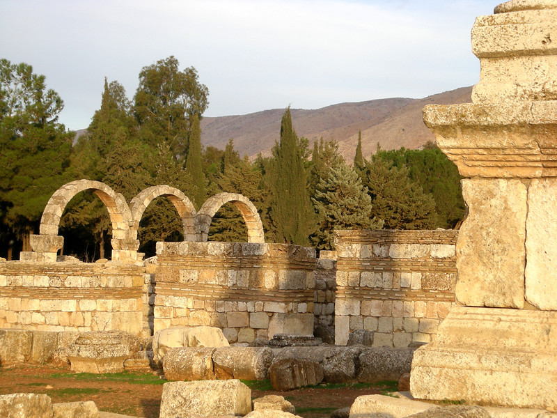 Aanjar archeological site