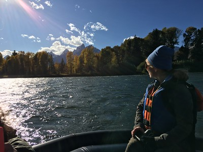 Exploring the Tetons by Boot and Boat 9/22-9/27