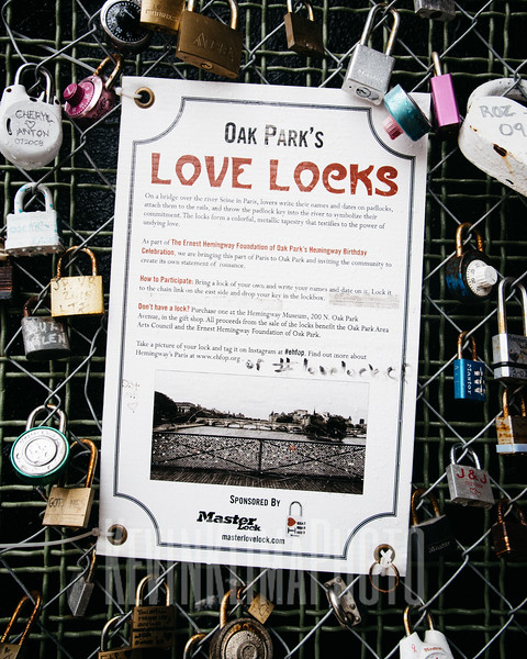 Oak Park's Love Locks