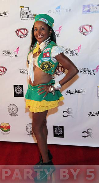 Nick Cannon Halloween Masquerade Ball 2012