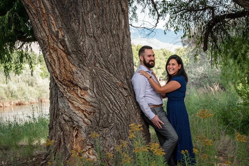 Summer Bosque Engagement Session Corrales New Mexico AJ & Gloria-7654.jpg