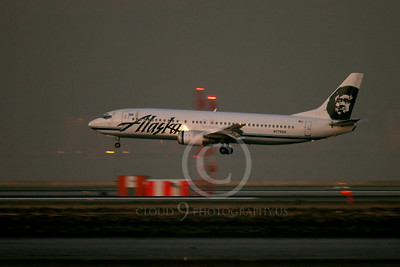 Alaska Airline Boeing 737 Airliner Pictures
