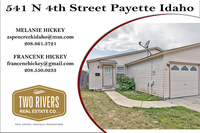 541 N 4th Street Payette Idaho - Melanie Hickey