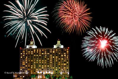 2017-07-04 Fireworks in Savannah