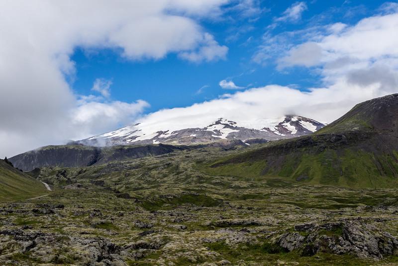 Snaefellsness mountain