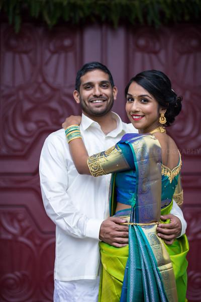 Barathi Mahesh Engagement