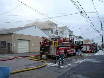 WEST MAHANOY TOWNSHIP STRUCTURE FIRE 3-7-2008 PICTURES FROM THE POLISH AMERICAN WEBSITE