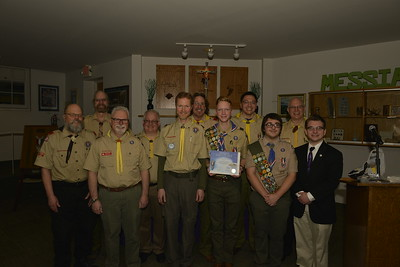 Troop 664 Luke Mortensen's Eagle Court of Honor 3-10-2019