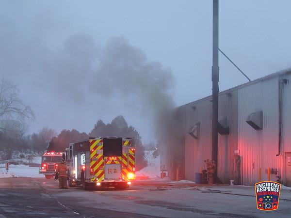 Fire at Nemschoff on January 5, 2014