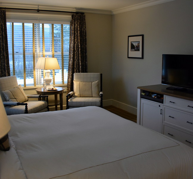 Junior Suite at the Taconic Hotel in Manchester, VT