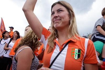 Huldiging Oranje 2010