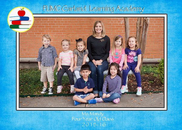FUMC Garland Learning Center  - 2015
