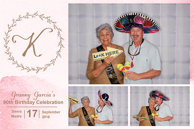 Granny Garcia's 90th Birthday Bash