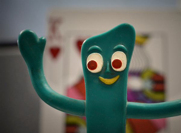 0302 character  Gumby always struck me as a character with character.