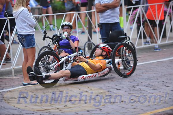 Wheelchair/Handcycle Start - 2016 Crim Festival of Races