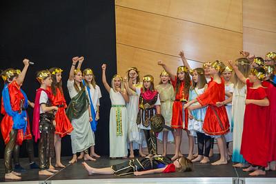 Adam's Class Presents Julius Caesar