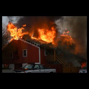 3 Alarm Barn Fire - 267 Jobs Hill Rd, Ellington CT - 10/2/20