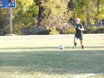Warrior Girls Soccer vs Legacy         9-24-12