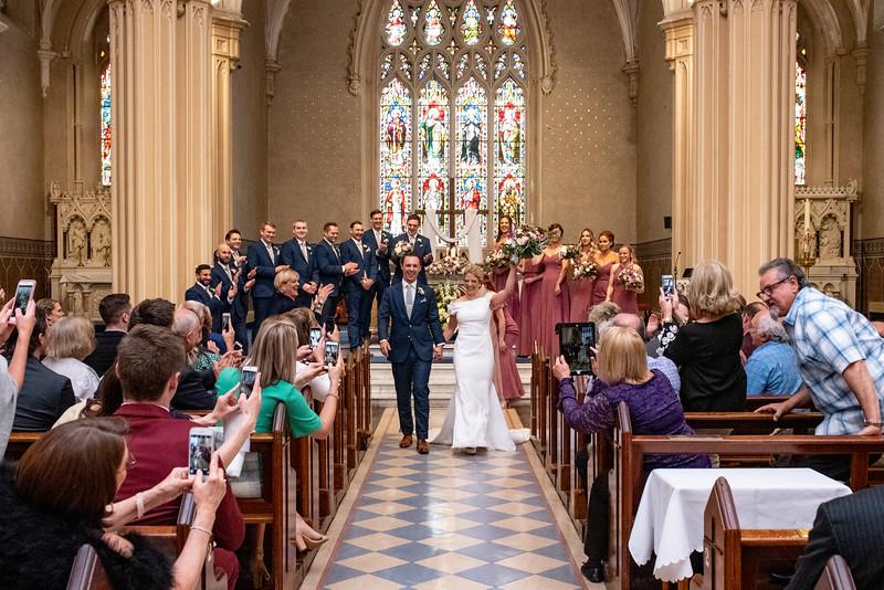Sara & Brenden @ saint muredach's cathedral ballina